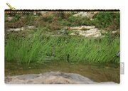 Grass Blades In Water Carry-all Pouch