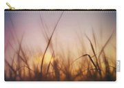 Grass In A Windy Field Carry-all Pouch