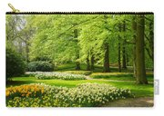 Grass Lawn With Daffodils  Carry-all Pouch