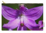 Grass Pink Orchid Carry-all Pouch