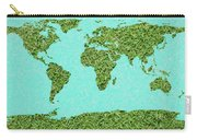 Grass World Map Carry-all Pouch