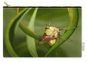 Grasshopper Twist Carry-all Pouch
