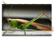 Grasshopper Posing Carry-all Pouch