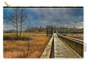 Grassy Glades Carry-all Pouch by Debra and Dave Vanderlaan
