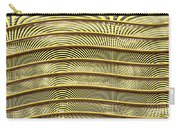 Grate Of Yellow Carry-all Pouch