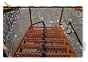 Gravel Pit Grinder Rusty Staircase Carry-all Pouch