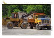 Gravel Pit Loader And Dump Truck 01 Carry-all Pouch