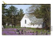 Graveyard Phlox Country Church Carry-all Pouch by John Stephens