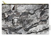 Gray Bark Carry-all Pouch