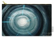 Gray-blue Star. Sparkling Light Carry-all Pouch