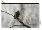 Gray Day Vulture Carry-all Pouch
