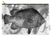 Gray Fish Carry-all Pouch