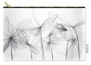 Grayish Spring - Modern Art Carry-all Pouch