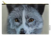 Gray Fox Head Study Carry-all Pouch