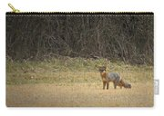 Gray Fox In Lower Pasture Carry-all Pouch