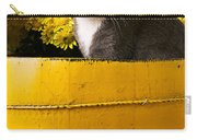 Gray Kitten In Yellow Bucket Carry-all Pouch