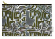 Gray Pattern,abstraction Carry-all Pouch