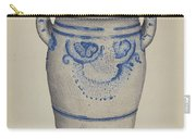 Gray Pottery Jar Carry-all Pouch