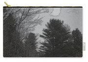 Gray Skies Over The Pines Carry-all Pouch