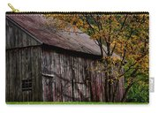 Gray Weathered Barns Number Three Carry-all Pouch