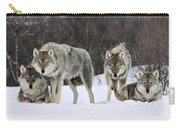 Gray Wolves Norway Carry-all Pouch