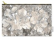 Grayscale Bevy Of Beauties With Sepia Tones Carry-all Pouch