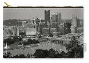 Grayscale Pittsburgh Carry-all Pouch