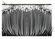 Grayscale Swollen Icicles Carry-all Pouch