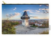 Graz Sunset Panorama Carry-all Pouch