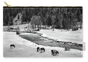 Grazing Bw Carry-all Pouch
