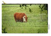 Grazing Cow Carry-all Pouch