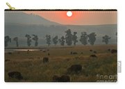 Grazing In The Smoke Carry-all Pouch