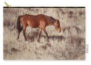 Grazing In The Winter Grass Carry-all Pouch