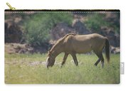 Grazing Wild Mustang  Carry-all Pouch