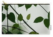 Green Leaves 2 Carry-all Pouch