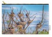 Great Black Cormorants Colony - Danube Delta Carry-all Pouch