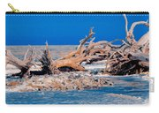 Great Blue Driftwood Carry-all Pouch