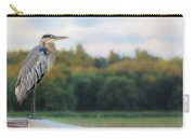 Great Blue Great View Great Meadows Carry-all Pouch