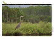 Great Blue Heron Along Cedar Creek Carry-all Pouch
