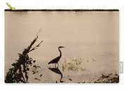Great Blue Heron At Rollins Carry-all Pouch