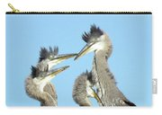 Great Blue Heron Discussion Carry-all Pouch