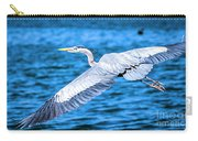 Great Blue Heron Flight Carry-all Pouch
