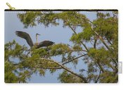 Great Blue Heron In Cypress  Carry-all Pouch