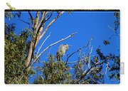 Great Blue Heron In Eucalyptus Tree Carry-all Pouch