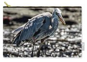 Great Blue Heron In Galapagos Carry-all Pouch