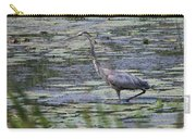 Great Blue Heron In Maine  Carry-all Pouch