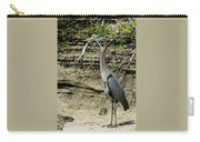 Great Blue Heron In Ozarks Carry-all Pouch