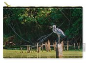 Great Blue Heron Mouth Carry-all Pouch