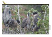 Great Blue Heron Nest Carry-all Pouch