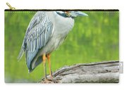 Great Blue Heron On Little Sarasota Bay Carry-all Pouch